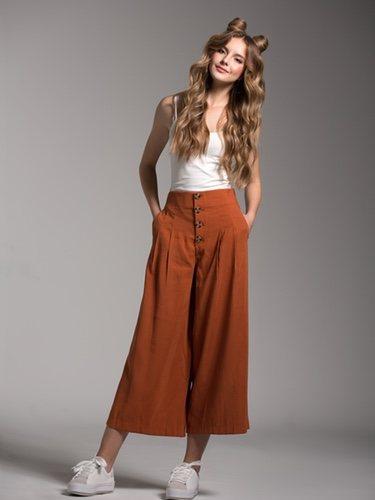 Este tipo de pantalones son la mejor opción para disimilar barriga
