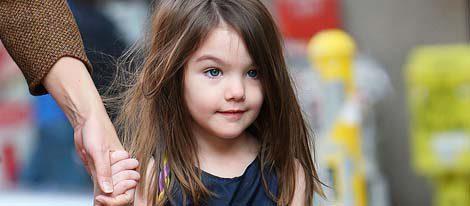 La pequeña de los Cruise es un icono de la moda infantil