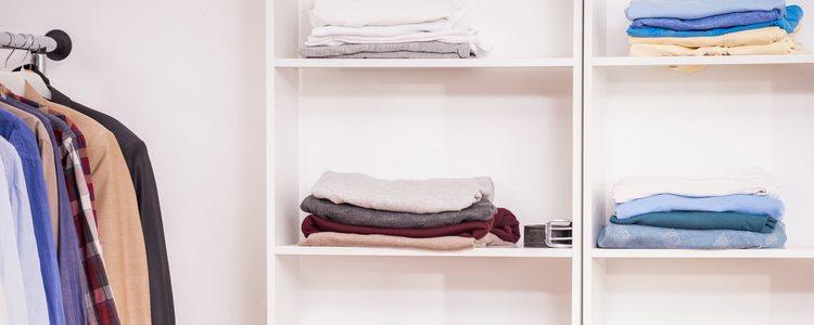 Es importante dividir en ropa de invierno y de verano