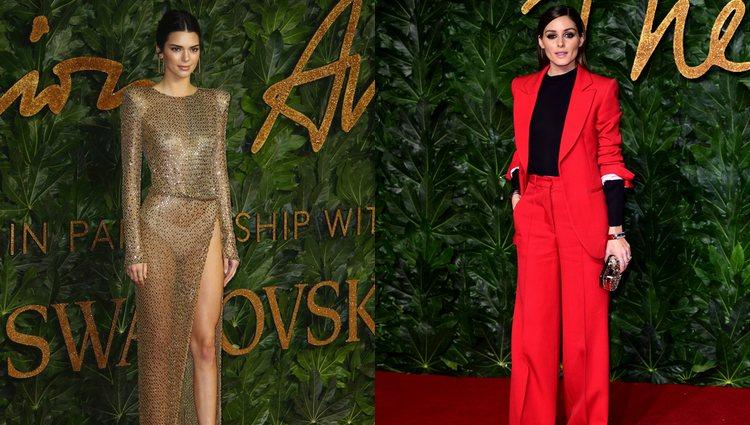 Kendall Jenner y Olivia Palermo en la alfombra roja