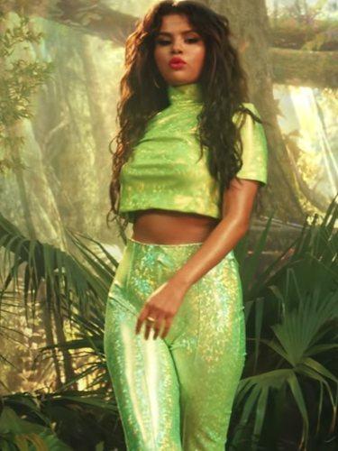Selena Gomez en el videoclip de 'Taki Taki'