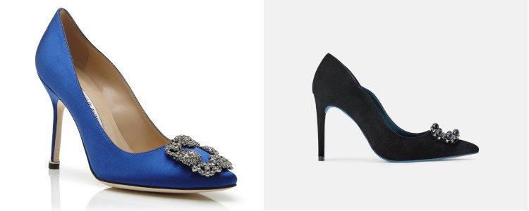 Los zapatos de Zara se inspiran en el modelo Hangisi de Manolo Blahnik