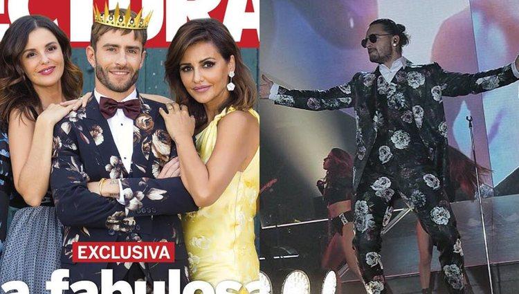 Pelayo en septiembre y Maluma en octubre | Fotos: Instagram