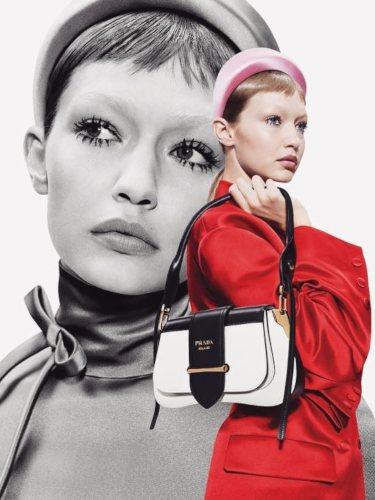 Gigi Hadid, imagen de la nueva campaña de Prada