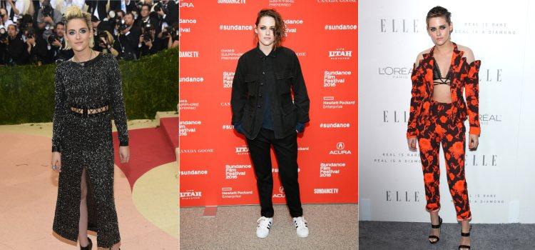 Varios looks de la actriz Kristen Stewart