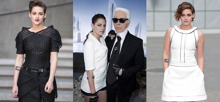 Kristen Stewart, una de las embajadoras de Chanel