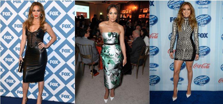 Varios looks de la artista Jennifer Lopez en 2013