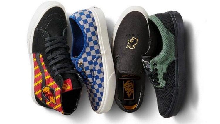 Los cuatro modelos de Vans inspirados 'Harry Potter'
