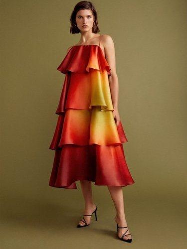 El vestido que lució Sofía Sánchez de Betak | Foto: Mango