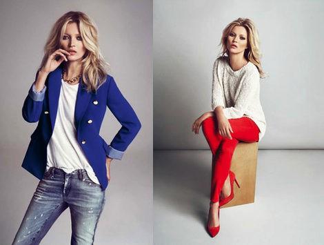 Kate Moss para MANGO otoño/invierno 2012/2013