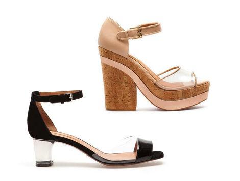 zapatos transparentes uterque