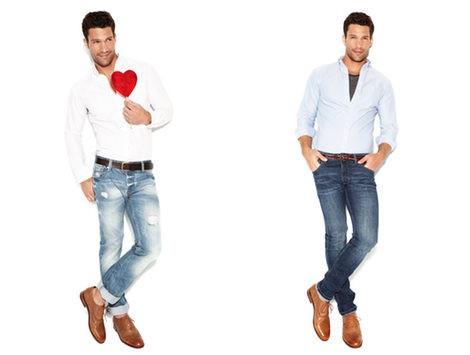 Erin Heatherton y Aaron O'Connell presentan la colección 'We love jeans' otoño 2012 de Suiteblanco