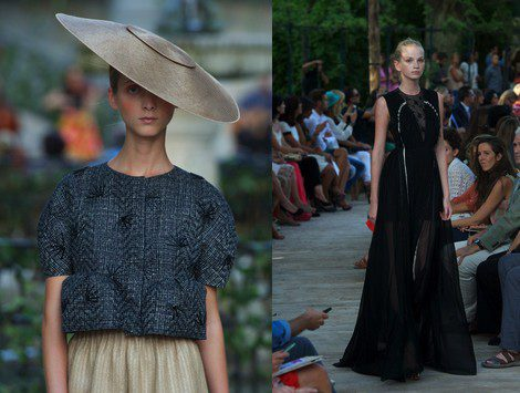 Desfile DELPOZO en la Fashion Week septiembre 2012