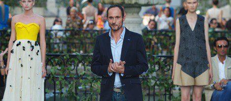 Josep Font en el desfile de la Fashion Week septiembre 201