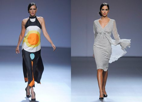 Diseños de Elio Berhanyer en Madrid Fashion Week