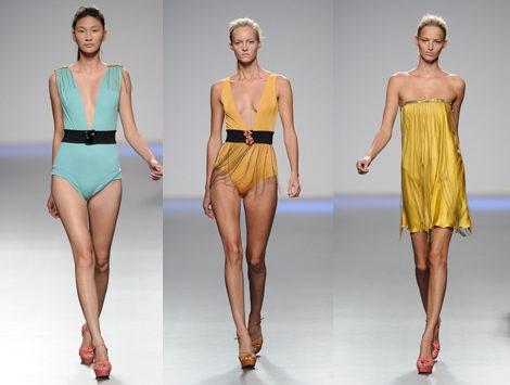 Vestidos de la colección primavera/verano 2013 de Kina Fernández