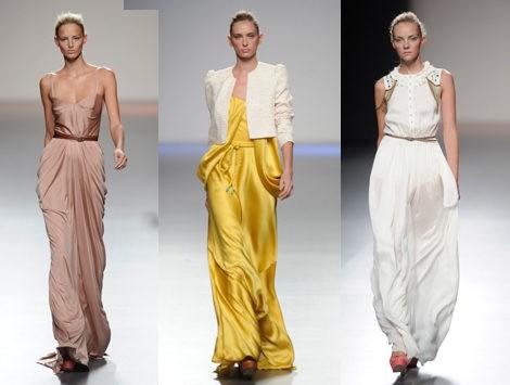Elegantes vestidos de la colección primavera/verano 2013 de Kina Fernández