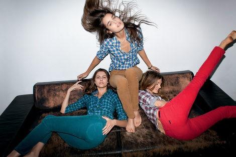 Pantalones de pana de la colección otoño/invierno 2012/2013 de Lee
