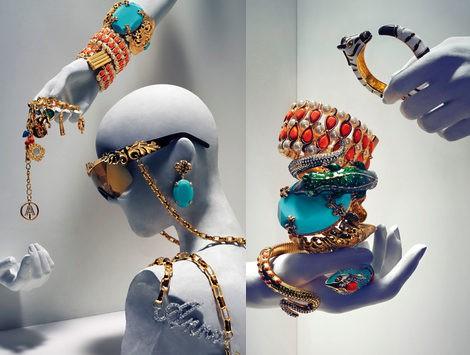 algunos de los complementos de anna dello russo para h&M