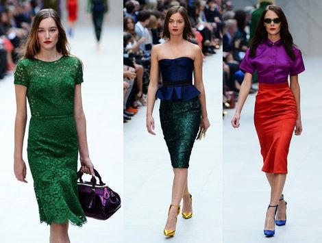 Colores vivos para la próxima primavera/verano 2013