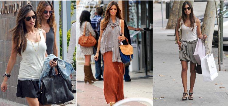 Varios looks de la periodista Sara Carbonero en 2012