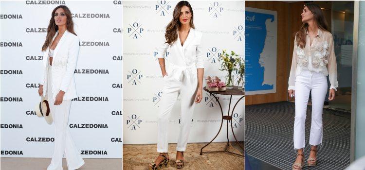 Varios looks de la periodista Sara Carbonero en 2019
