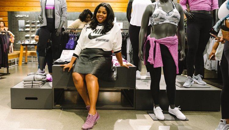 Nike celebra el deporte y la inclusión apostando por maniquíes de tallas grandes