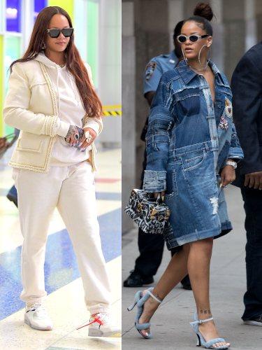 Streetstyle de Rihanna