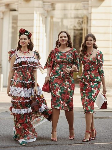 Modelos de tallas grandes incursionan en la firma italiana Dolce & Gabanna