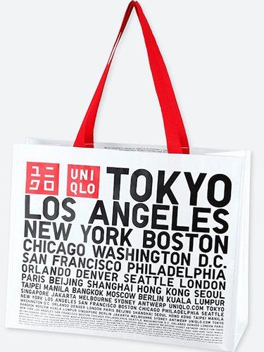 La Eco Bag de Uniqlo se presenta como una bolsa reutilizable y 'de por vida'