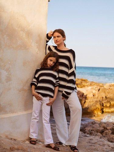 'Mini me', una colección para que madre e hija vistan con prendas parecidas.