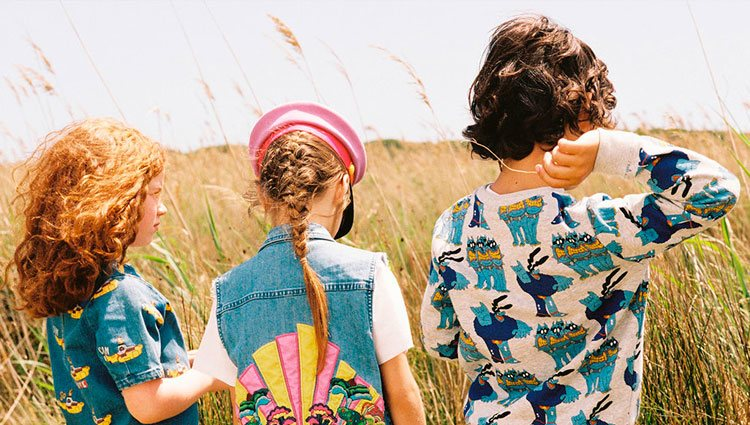 Prendas para niños de la nueva colección 'All Together Now' de Stella McCartney x The Beatles | Foto: Stella McCartney
