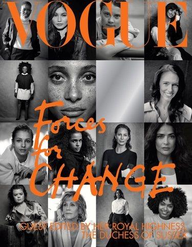 Porta de Vogue UK edición septiembre 2019