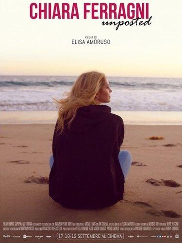 Cartel de presentación del documental, 'Chiara Feragni -Unposted'