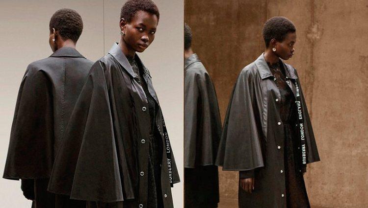 Los abrigos más representativos de Burberry se transforman con la fibra reciclada de Nylon