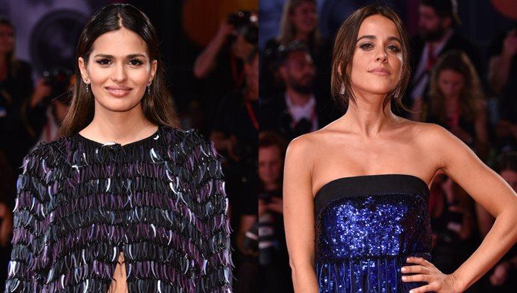 Sara Sálamo y Macarena García vestidas de Armani
