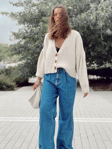 Marta Riumbao con un look otoñal | Foto: Instagram
