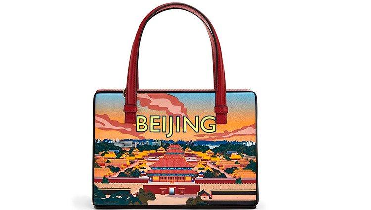 Bolso Beijing de la colección Postal de Loewe