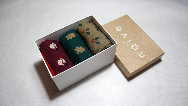 Pack de 3 calcetines de Naïve