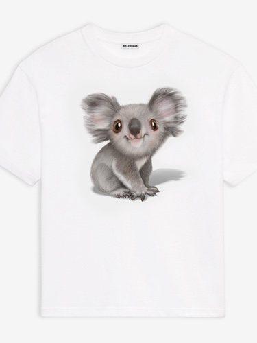 Camiseta de Balenciaga con un koala