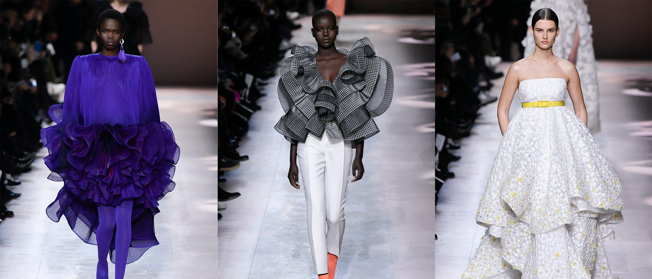 Givenchy dedica en París una carta de amor con su colección de Alta Costura