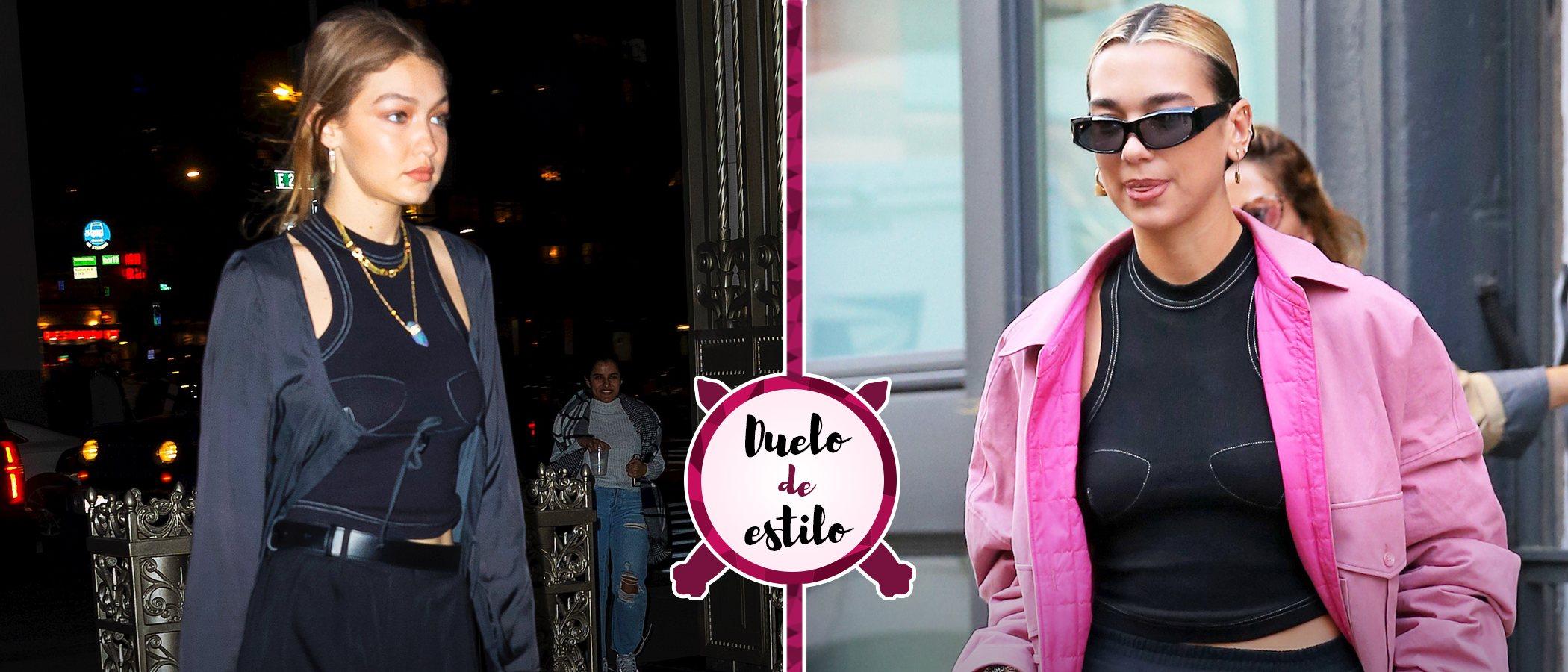 Gigi Hadid, Dua Lipa y un mismo top: ¿Comparten ahora armario las cuñadas?