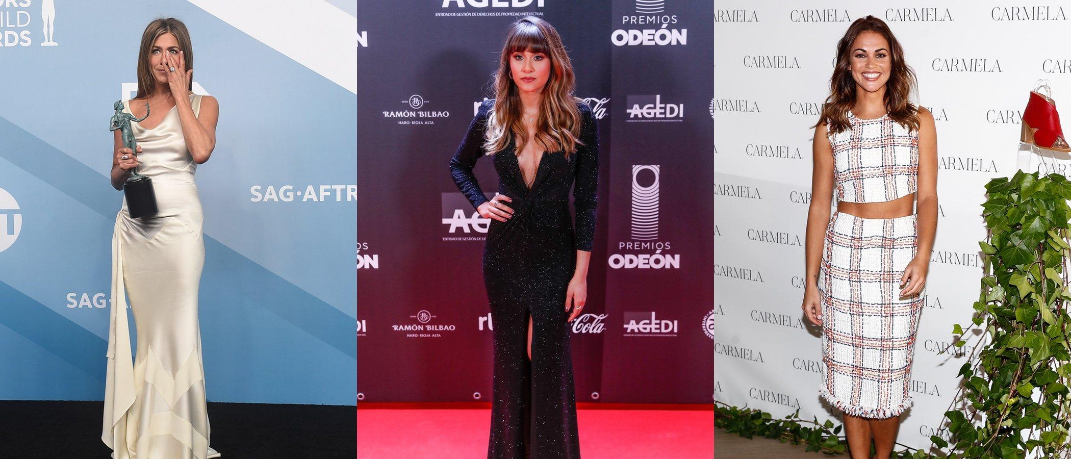 Jennifer Aniston, Aitana Ocaña y Lara Álvarez entre las mejor vestidas de la semana