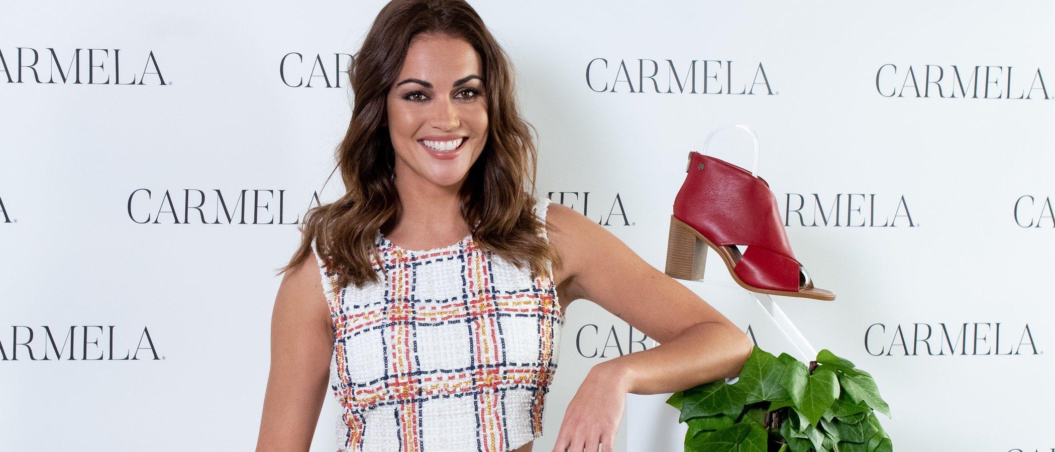 Lara Álvarez es la nueva imagen de la firma Carmela para la campaña primavera/verano 2020