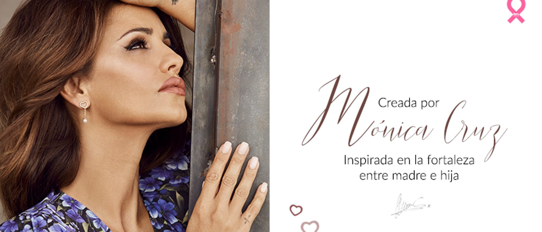 Mónica Cruz diseña junto a Majorica unas joyas muy especiales para San Valentín 2020