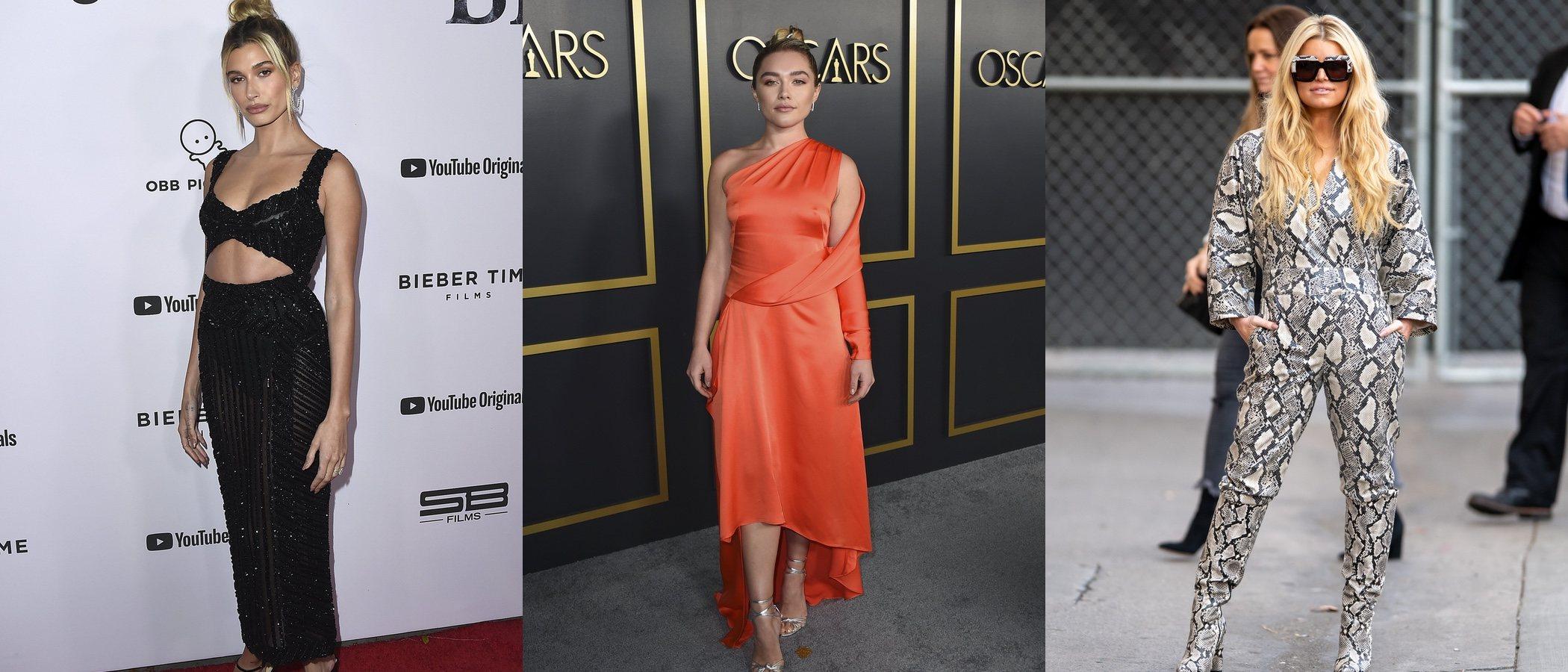 Hailey Baldwin, Florence Pugh y Jessica Simpson, entre las mejor vestidas de la semana
