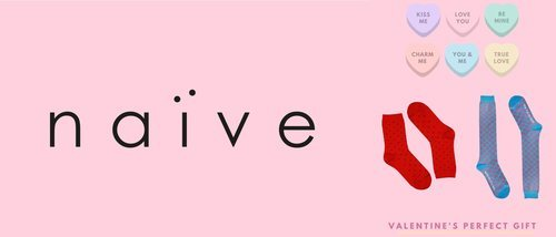 Naïve lanza su nueva colección para San Valentín 2020