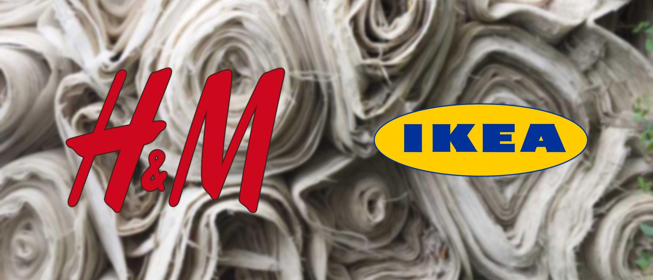 H&M e Ikea se unen para investigar juntas diferentes materiales que puedan ser recilados en sus productos