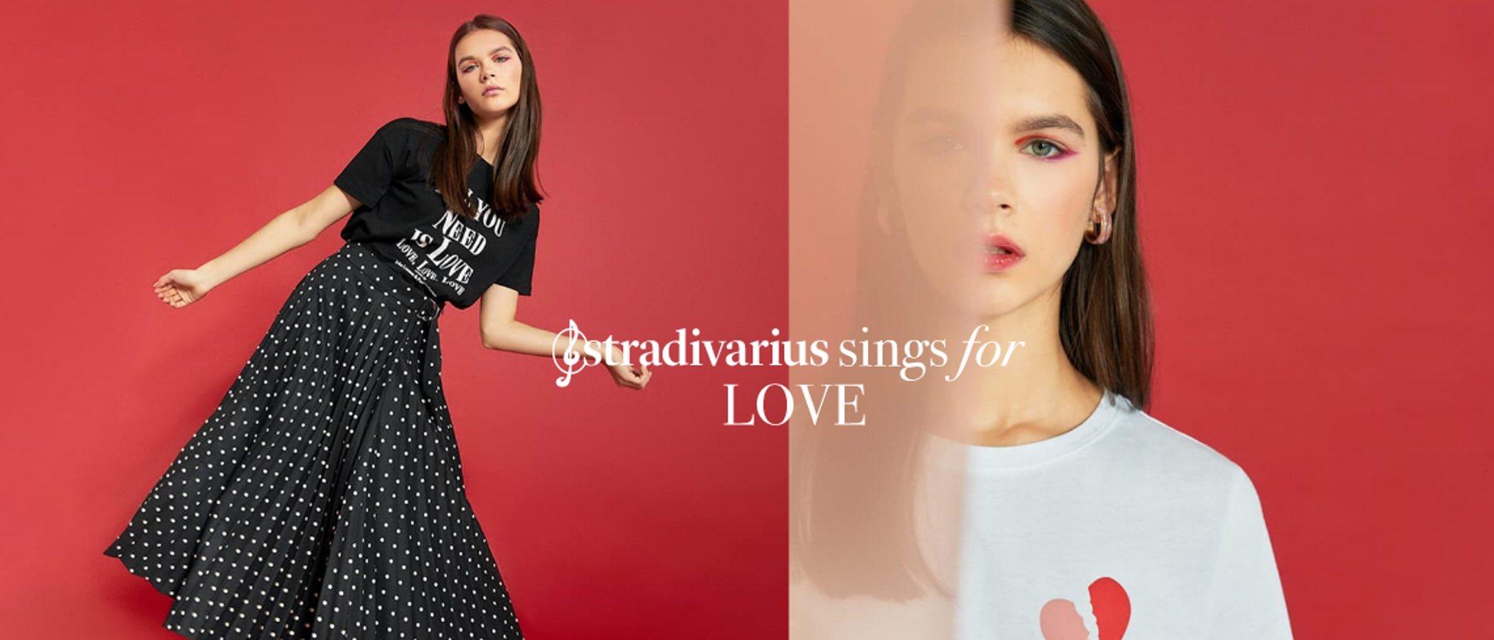 Llega la colección más romántica de Stradivarius: 'Sing for Love'