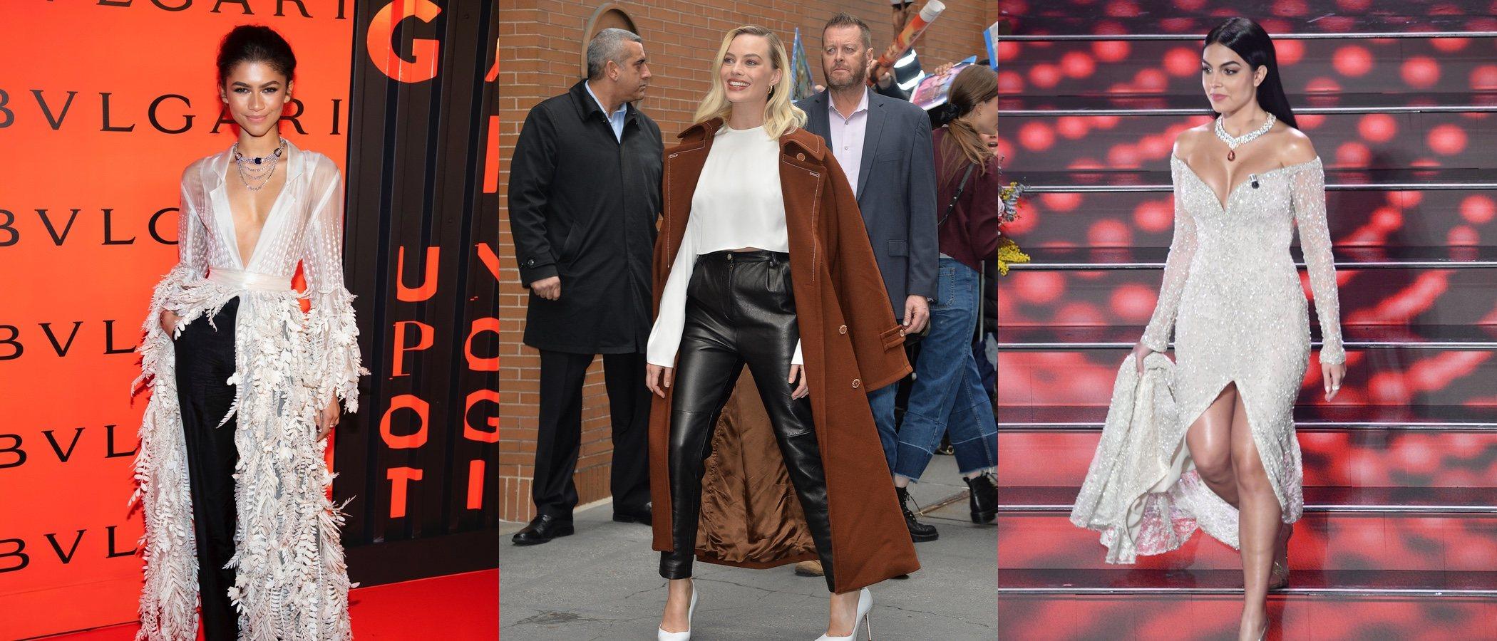 Zendaya, Margot Robbie y Georgina Rodríguez, entre las mejor vestidas de la semana